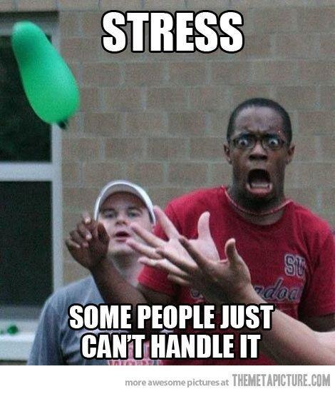 funny stress memes