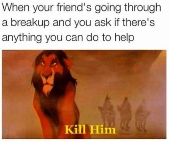 Image result for break up memes