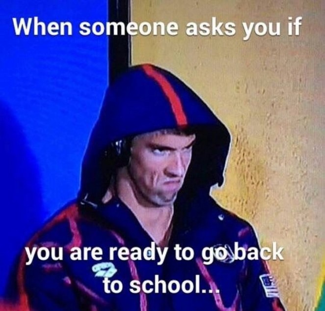going back to school memes for students