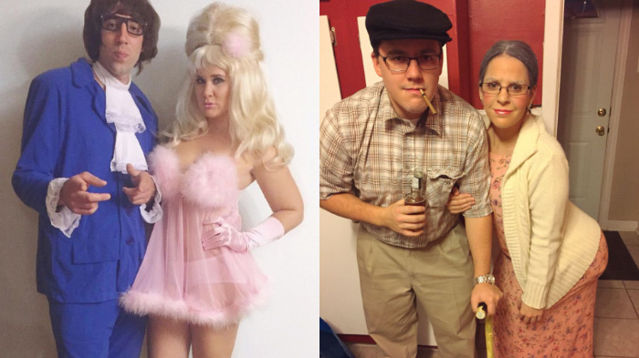 couples funny Halloween costumes