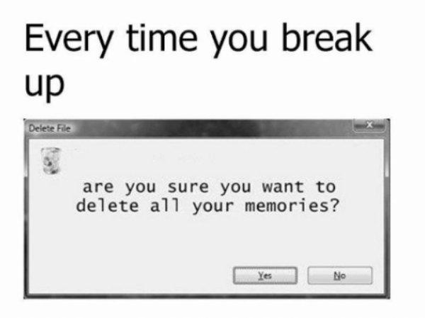 funny break up memes humor