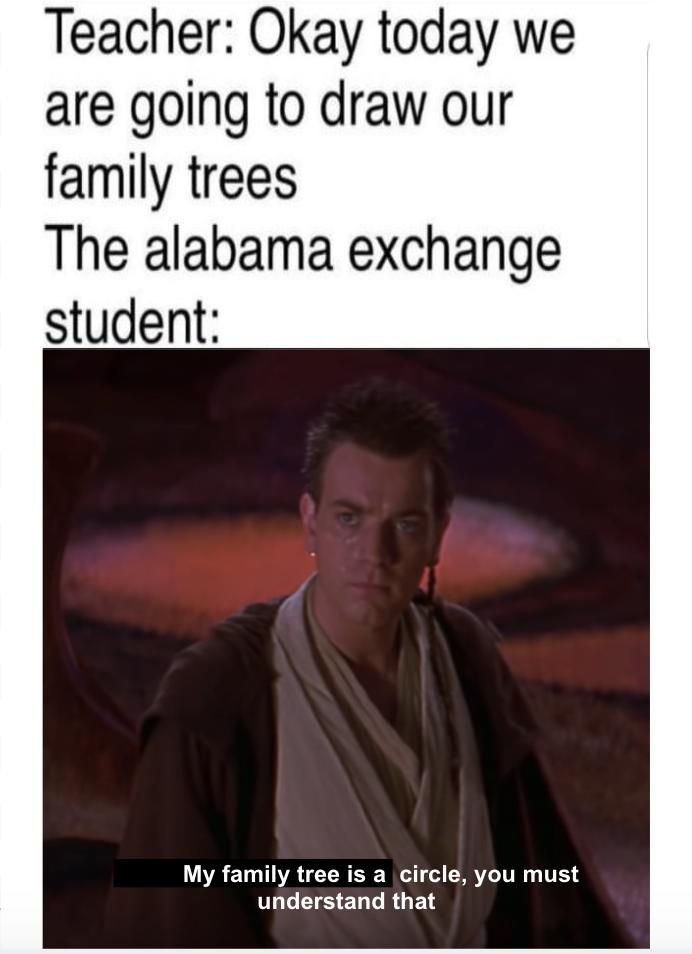 funny star wars Alabama Memes