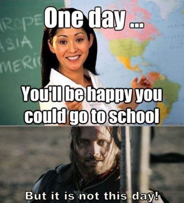 back to school memes for teachers