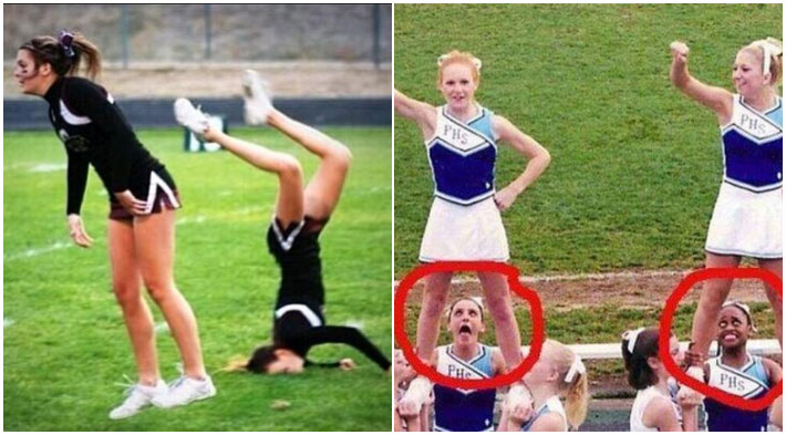Most Embarrassing and Awkward Cheerleader Fails