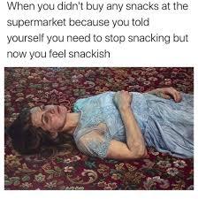 Snacks meme