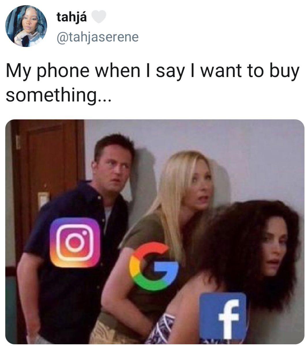 Funny Af Social Media Meme