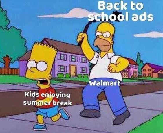 Funny Af Back To School Memes