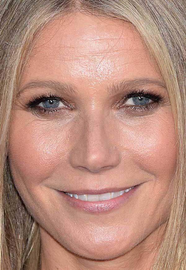 celebrity face close up