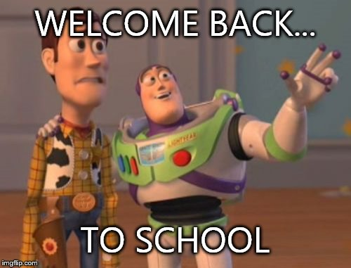 going back to school memes
