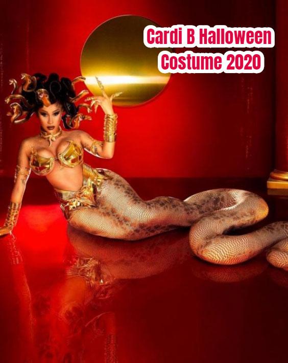 Cardi B Halloween Costume 2020 - Medusa